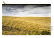 Wheat Fields With Storm Carry-all Pouch