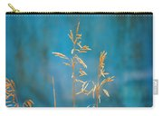 Wheat On Blue 1 Carry-all Pouch
