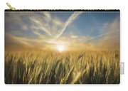Wheat Sunrise Carry-all Pouch
