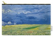 Wheatfields Under Thunderclouds Carry-all Pouch