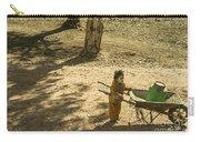 Wheelbarrow Girl  Carry-all Pouch