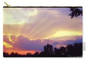 When Evening Comes Carry-all Pouch