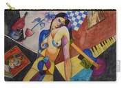 When Modigliani Met Picasso Carry-all Pouch