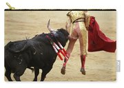 When The Bull Gores The Matador I Carry-all Pouch
