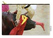 When The Bull Gores The Matador V Carry-all Pouch