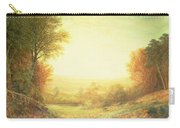 When The Sun In Splendor Fades Carry-all Pouch by John MacWhirter
