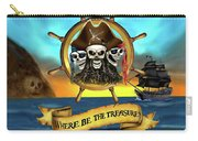 Where Be The Treasure? Carry-all Pouch