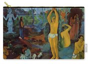 Where Do We Come From What Are We Where Are We Going 1897 Carry-all Pouch