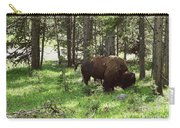 Where The Bison Roam Carry-all Pouch