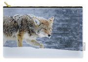 Where The Coyote Walks Carry-all Pouch