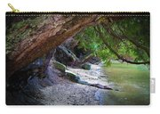 Where The Forest Meets The Sea Carry-all Pouch