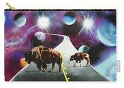 Where The Space Buffalo Roam II Carry-all Pouch