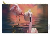 Where The Wild Flamingo Grow Carry-all Pouch