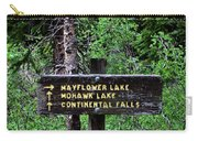 Which Way To Mayflower Lake Carry-all Pouch