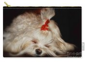 While Sugarplums Danced Carry-all Pouch by Lois Bryan