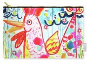 Whimsical Chicken Carry-all Pouch