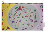 Whimsical Circle Carry-all Pouch