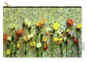 Whimsical Poppies On The Wall Carry-all Pouch