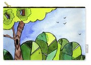 Whimsy Trees Carry-all Pouch