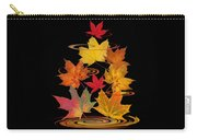 Whirling Autumn Leaves Carry-all Pouch