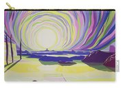 Whirling Sunrise - La Rocque Carry-all Pouch