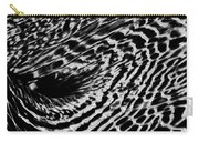 Whirlpool Abstract - Bw Carry-all Pouch