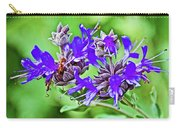 Whirly Bird Salvia In Rancho Santa Ana Botanic Garden In Claremont-california Carry-all Pouch