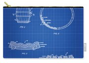 Whiskey Barrel Patent 1968 In Blue Print Carry-all Pouch