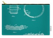 Whiskey Barrel Patent 1968 In Green Carry-all Pouch