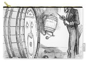 Whiskey Ring Cartoon, 1876 Carry-all Pouch
