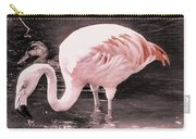 Whisper Pink Flamingo Carry-all Pouch