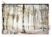 Whispering Woodland In Autumn Fall Carry-all Pouch