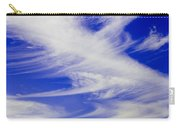 Whispy Clouds Carry-all Pouch