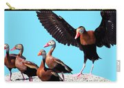 Whistling Ducks Carry-all Pouch