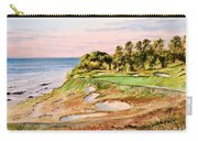 Whistling Straits Golf Course 17th Hole Carry-all Pouch by Bill Holkham