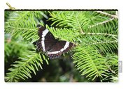 White Admiral On Tree Carry-all Pouch