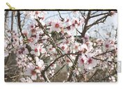 White Almond Flowers Carry-all Pouch