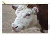 White And Brown Heifer Dairy Cow Carry-all Pouch