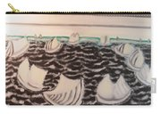White And Grey Sailing Boats Carry-all Pouch