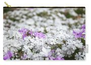 White And Pink Flowers At Botanic Garden In Blue Mountains Carry-all Pouch