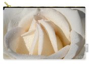 White Angel Rose Carry-all Pouch