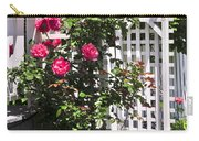 White Arbor In A Garden Carry-all Pouch by Elena Elisseeva