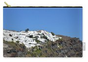 White Architecture In The City Of Oia In Santorini, Greece Carry-all Pouch