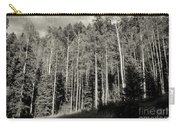 White-barked Birch Forest 3 Carry-all Pouch