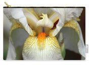 White Bearded Iris 2 Carry-all Pouch