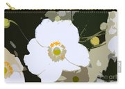 White Beauty Work Number 6 Carry-all Pouch
