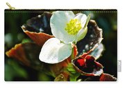 White Begonia At Pilgrim Place In Claremont-california  Carry-all Pouch