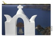 White Bell Tower Carry-all Pouch