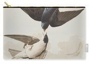 White-bellied Swallow Carry-all Pouch