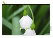 White Bells Perspective Carry-all Pouch